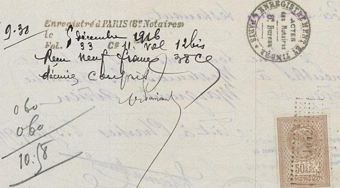 Testaments de mobilisés parisiens (1914-1918) en ligne : une source pour faire de l'histoire sociale ?